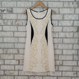 NWT Altar'd State Embroidered Leaf Sheath Dress